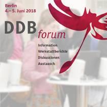 Unser DDBforum: Information, Werkstattberichte, Diskussionen, Austausch