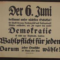 German Archives Portal soon with thematic access to the Weimar Republic