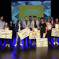 Coding da Vinci Süd: Eine hochkarätige Preisverleihung