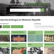 Alles neu: Archivgut, Archive und die Weimarer Republik entdecken