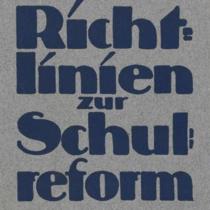 """Aus dem Archivportal: """"Im Blickpunkt - Bildungsreform"""""""