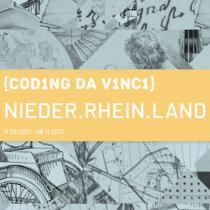 Kick-Off zum Coding da Vinci-Kulturhackathon Nieder.Rhein.Land 2021