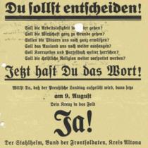 """Aus dem Archivportal: """"Im Blickpunkt - Stahlhelm / Bund der Frontsoldaten"""