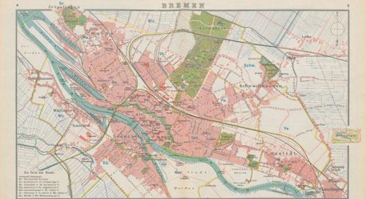 """""""Bremen"""", Georg-Eckert-Institut - Leibniz Institut für internationale Schulbuchforschung Braunschweig, (CC0 1.0 Universell - Public Domain Dedication)"""