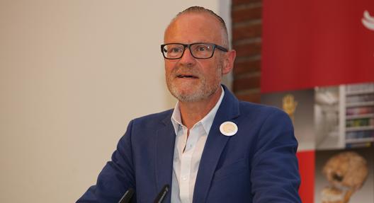 Dr. Uwe Koch auf dem DDBforum, Berlin 2018, Deutsche Digitale Bibliothek, Foto: Hans-Georg Schöner (CC BY 4.0 International)