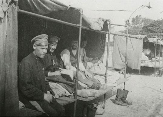 Liegehallen für Tuberkulose