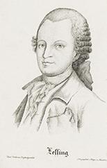 Lessing / nach [Johann Heinrich] Tischbeins Originalgemälde lithographirt v. [Anton] Falger, Mün-chen, [ca. 1820]