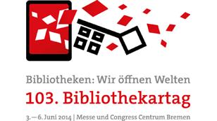 Logo 103. Bibliothekartag in Bremen