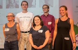 Die Jury - von links: G. Beger, T. Koch, U. Müller, L. Pintscher, Anja Jentzsch)