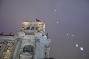 Impressionen von den Feierlichkeiten zum Gedenken an den Mauerfall am 9. November 1989