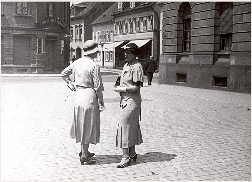 Speyer, Postplatz, 1930er