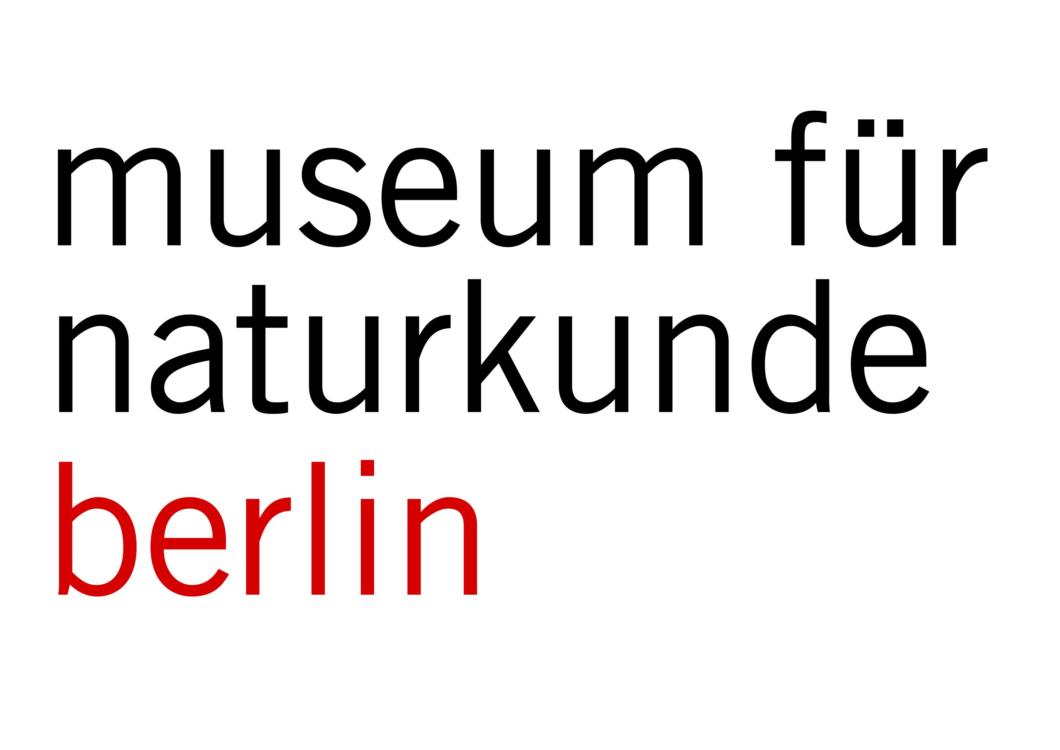 Logo Museum für Naturkunde Berlin