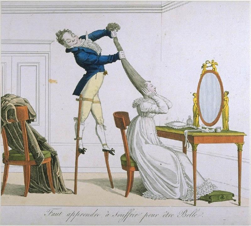 Faut apprendre à souffrir pour être Belle (1814), Foto: Fotograf unbekannt, © Kunstbibliothek, Staatliche Museen zu Berlin