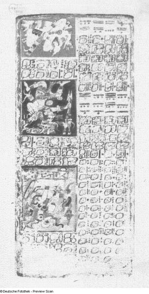 Maya-Handschrift, Codex Dresdensis