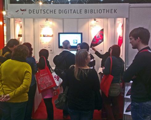 Messestand Leipzig Deutsche Digitale Bibliothek