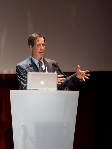 Dan Cohen auf der EuropeanaTech. Von Europeana. (CC BY SA)