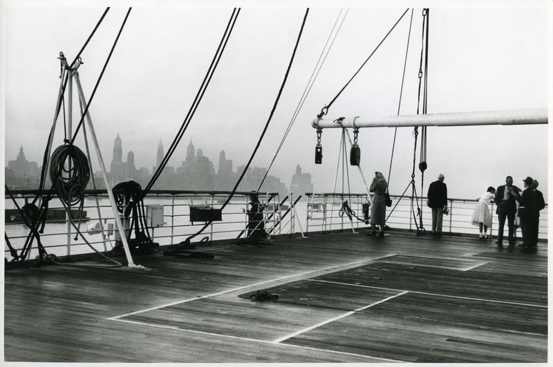 Einfahrt in New York, aus der Serie 'Die Welt des Tabaks', Foto: Ehrhardt, Alfred (1956)