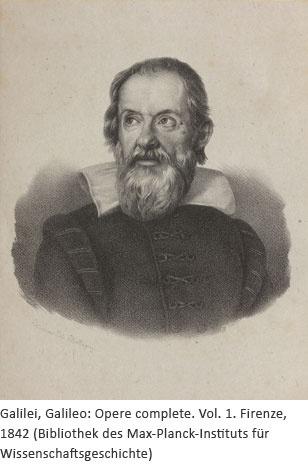 Porträt Galileo Galilei