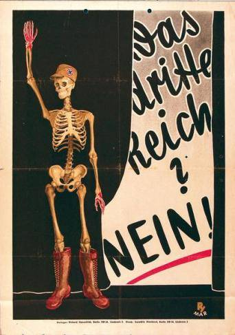 Das Dritte Reich? Nein! (Wahlplakat SPD 1932)