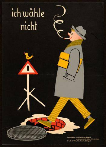 Ring Politischer Jugend, Landesausschuß Baden-Württemberg, Bundestagswahl 1957