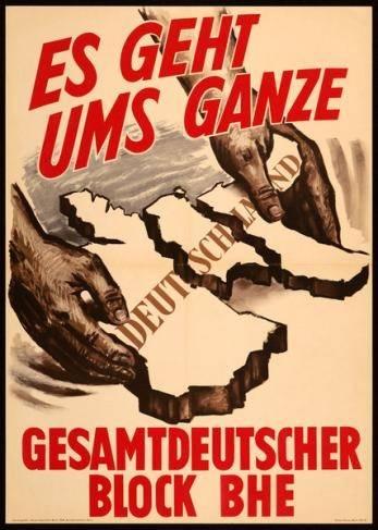 GB/BHE, Bundestagswahl 1957