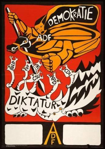 ADF, Bundestagswahl 1969
