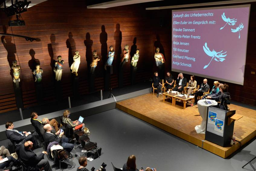 Free access to pictures shapes human character! – A Conversation about the Future of Copyright Law