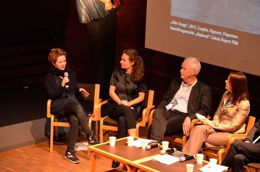 Künstlerin Frauke Dannert im Gespräch