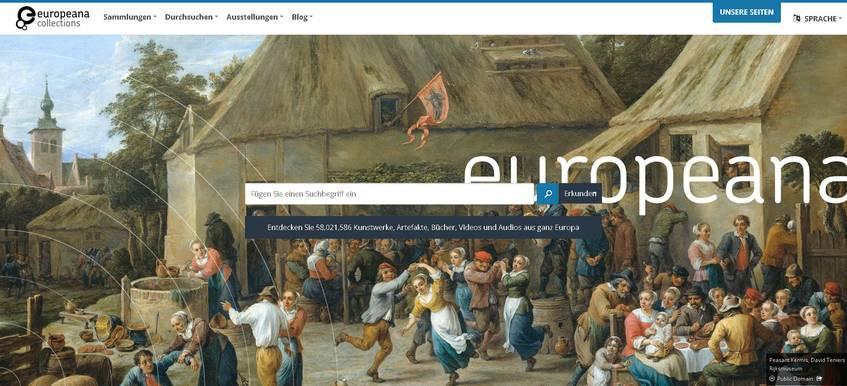 Europeana Startseite