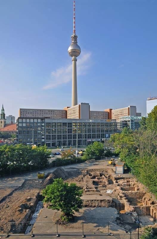 Grabung Jüdenhof – Landesdenkmalamt Berlin, Gunnar Nath, 2011