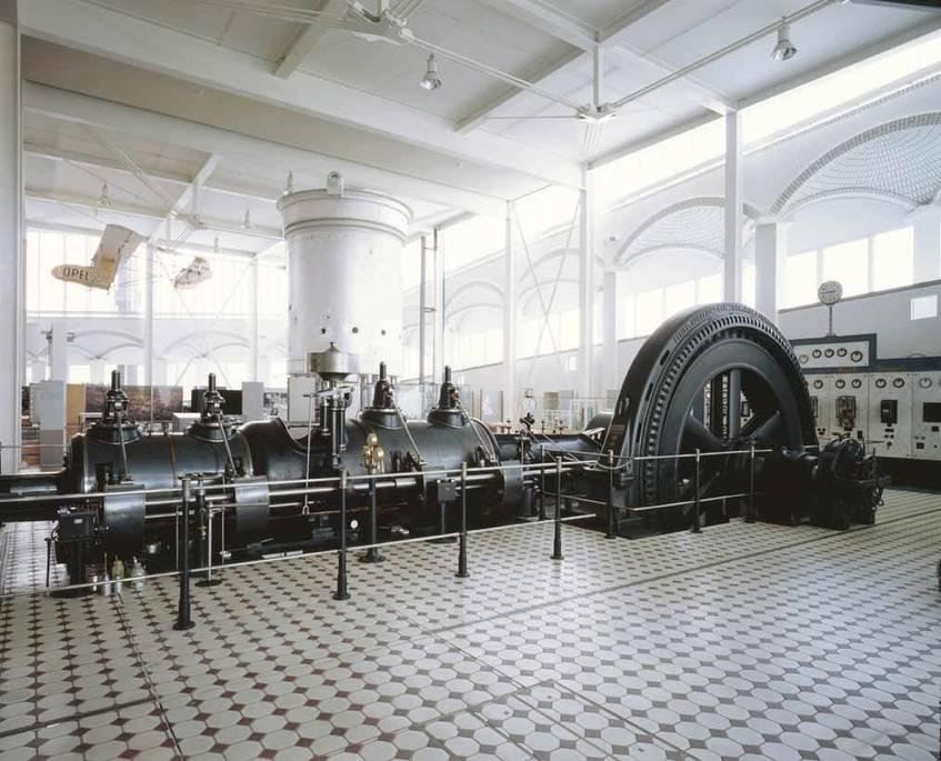 Technoseum Dampfmaschine