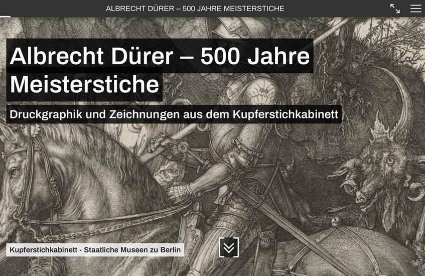 Beispiel für eine Partnerausstellung mit DDBstudio (Startseite). Abbildung: Deutsche Digitale Bibliothek (CC BY-SA 4.0)