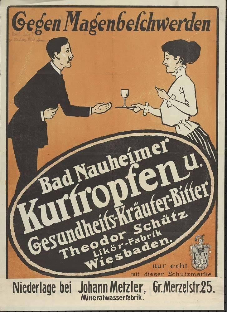 Gaskrieg, Rudolf Eberle (Graphiker), Graphik, 1916, Colmar, aus der Sammlung vom Hessischen Landesarchiv - Abteilung Hauptstaatsarchiv Wiesbaden