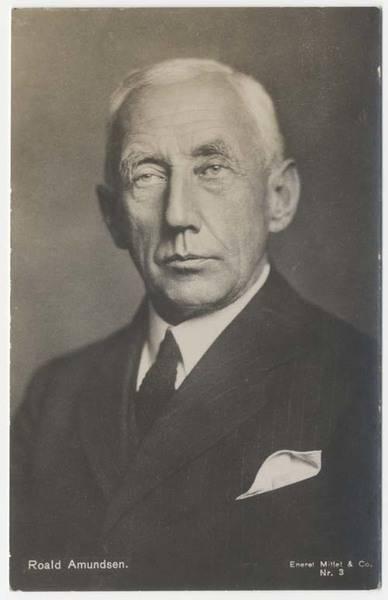 """Roald Amundsen"", Nachlass Ernst Hermann, Leibniz-Institut für Länderkunde e.V. (CC BY-NC-SA 4.0 International)"