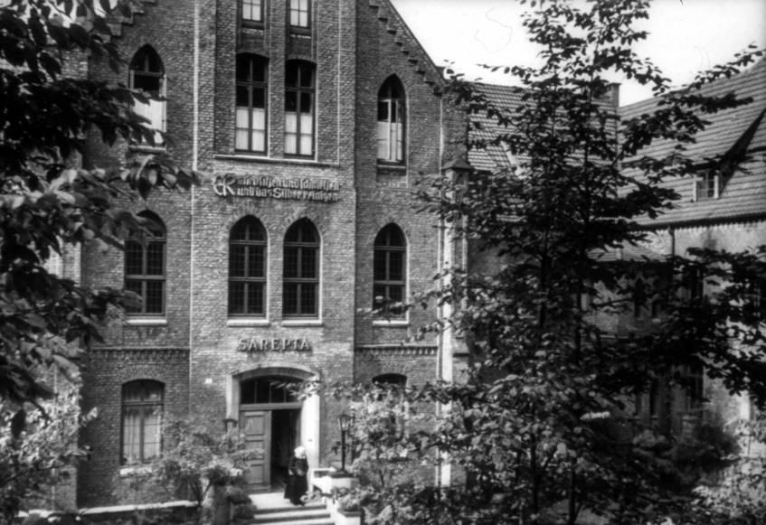 Hauptportal des Diakonissenmutterhauses, Hauptarchiv Bethel