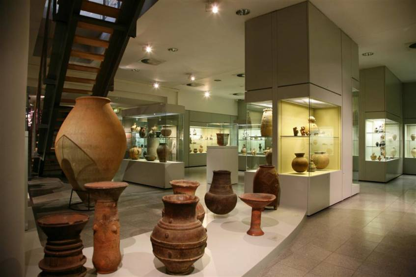 Hetjens, Abteilung afrikanische Keramik, Foto: Horst Kolberg