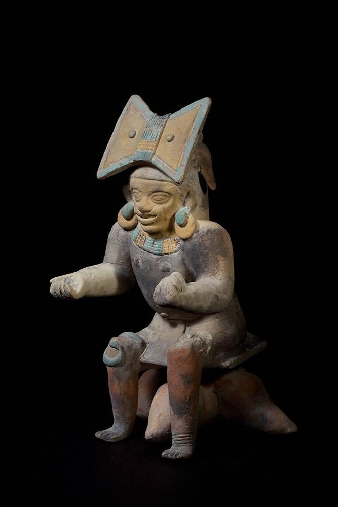 Schamane, Jama-Coaque-Kultur, Ecuador, ca. 100 n. Chr., Foto: Horst Kolberg