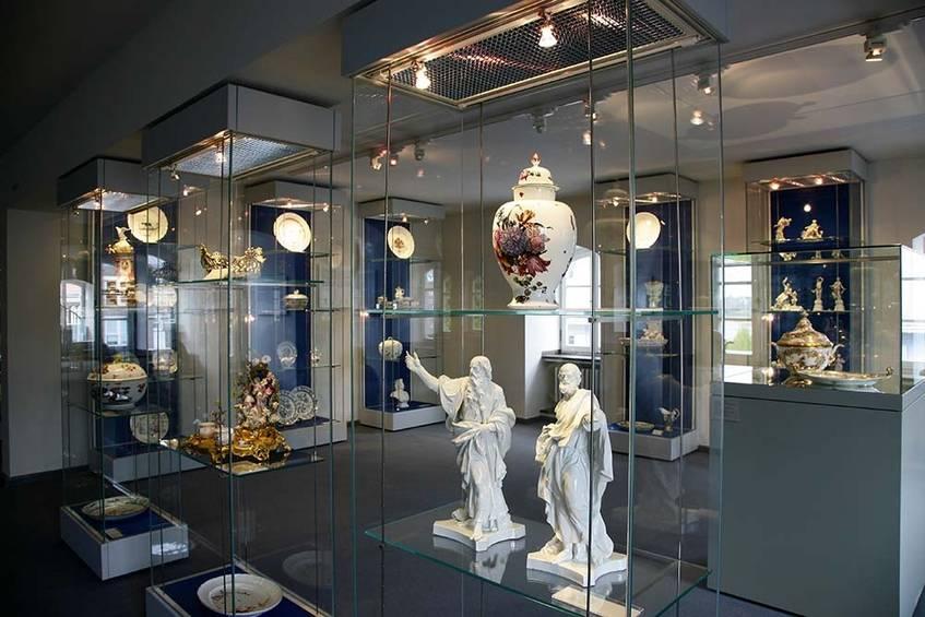 Hetjens, Abteilung europäisches Porzellan, Foto: Horst Kolberg