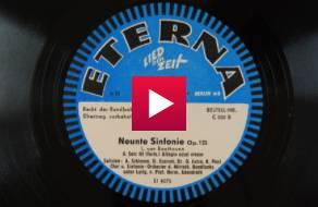 Neunte Sinfonie, Op. 125 : 4. Satz III [Teil.]; Allegro assai - Allegro assai vivace / L. van Beethoven