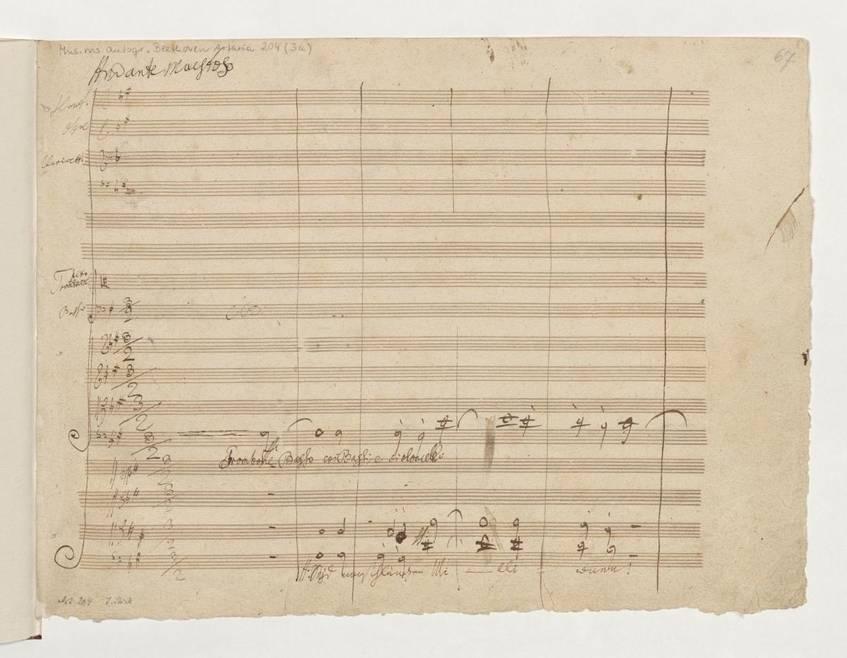 """Sinfonie Nr. 9 d-Moll op. 125"" (4. Satz), Ludwig van Beethoven, Staatsbibliothek zu Berlin – Preußischer Kulturbesitz (CC BY-NC-SA 3.0 Deutschland)"