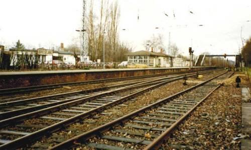 """""""Bahnhof Brieselang 1994"""", aus der Sammlung von Arno Heinrich"""
