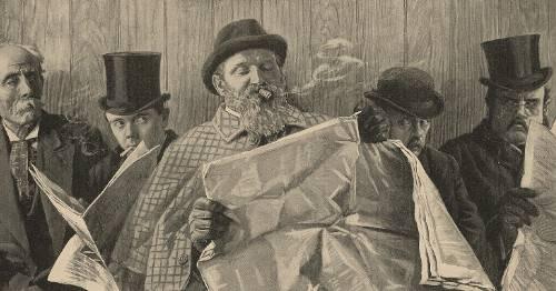 Zur Geschichte des Zeitungsdrucks