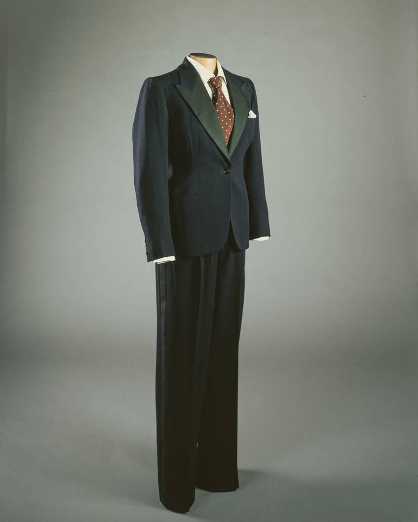 Marlene Dietrich Anzug