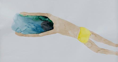Schwimmer von Michaela Meise