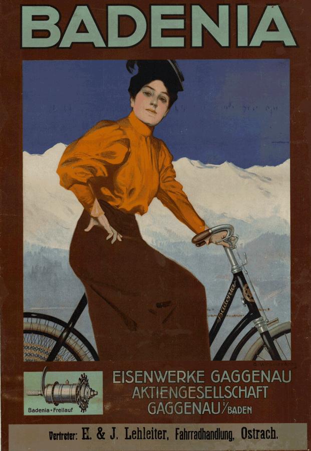 """""""Badenia Fahrräder Eisenwerke Gaggenau Aktiengesellschaft"""" (um 1915) TECHNOSEUM Landesmuseum für Technik und Arbeit in Mannheim (Rechtsstatus Unbekannt)"""