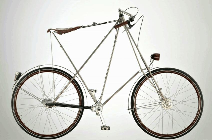 """""""Knock Down Kopenhagen Pedersen-Rad"""" (1990-1995) TECHNOSEUM Landesmuseum für Technik und Arbeit in Mannheim (CC0 1.0 Universell - Public Domain Dedication)"""