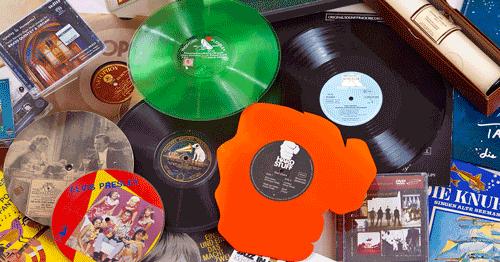 Bestand - verschiedene Tonträger, aus der Sammlung von: Deutsches Musikarchiv der Deutschen Nationalbibliothek (Namensnennung 4.0 International)