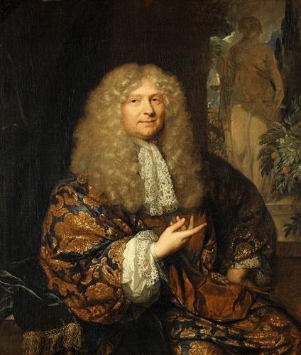 Bildnis eines Herrn mit Allongeperücke