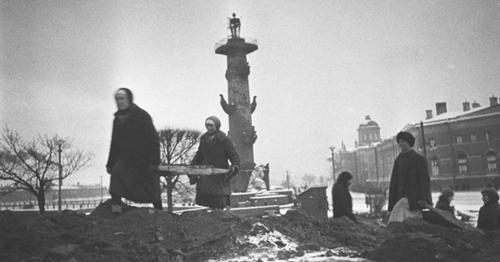 Leningrader Blockade