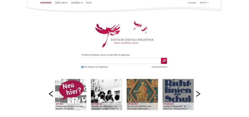 DDB-Startseite